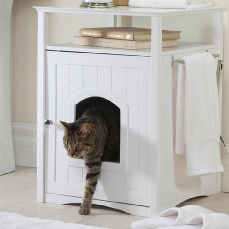 Интимное место для кота. Кошачий туалет.
