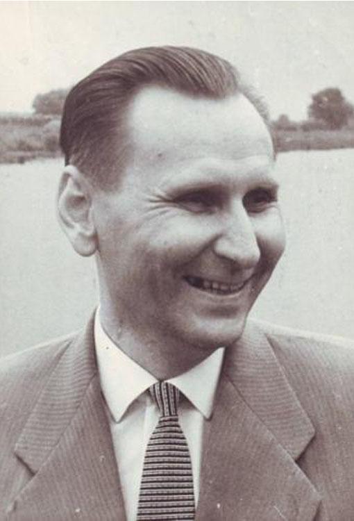 Советский поэт Борис Шаховский.